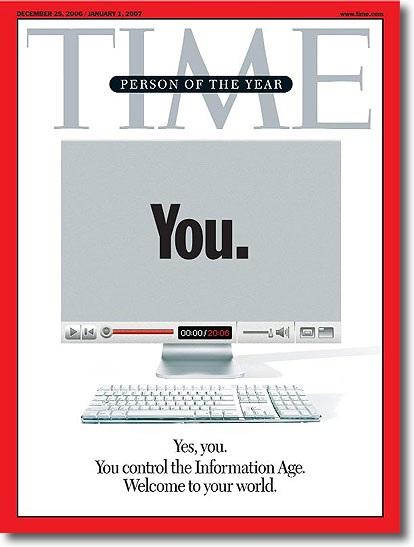 Tú controlas la era de la información.
