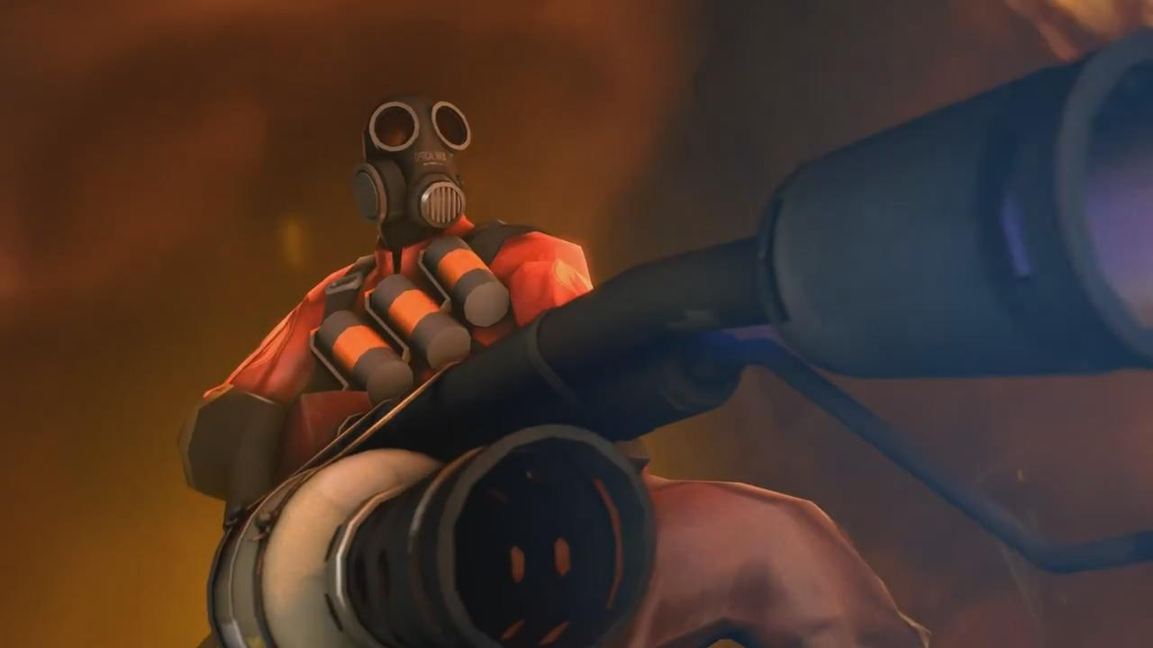 meet the pyro girl Tf2 didn't start with a lot of story there wasn't room for one but as the updates got more ambitious, we found the perfect way to explore the mercs' world: comics.
